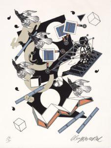Le Chemin de Ronde ou les mots sans titre, 1977